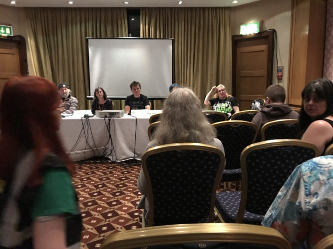 Second Day At Eastercon
