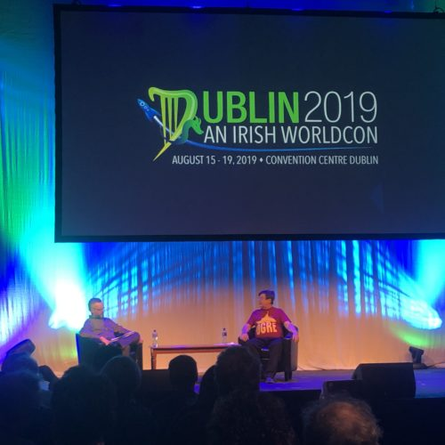 Day 2 at Dublin 2019 WorldCon